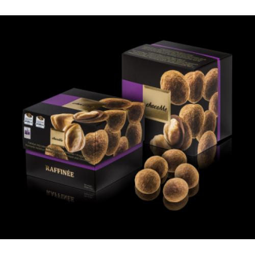 Raffinée - Alune de Piemonte invelite in ciocolata cu lapte 120g